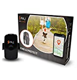 PAJ GPS Pet Finder- Mini GPS Tracker protection for dogs and cats- Waterproof and about 2 days of battery life with 1 hour of active tracking time approx. per day (up to 3 days in standby mode)