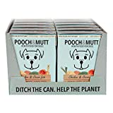 Pooch & Mutt - Wet Dog Food with Natural Ingredients - Grain Free, Complete & Fresh - Suitable for all Breeds & Sizes - Chicken & Ocean Fish, 12 x 375g