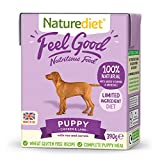 Naturediet - Feel Good Wet Dog Food, Natural and Nutritionally Balanced, Puppy, 390g (Pack of 18)