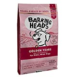 Barking Heads Dry Dog Food for Senior Dogs - Golden Years - 100% Natural Free-Run Chicken and Fish with No Artificial Flavours, Optimal Protein and Fat Levels for Senior Dogs, 12 kg