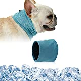 Dog Cooling Bandana, Dog Cooling Collar, Cooling Collar for Dogs, Dog Cooling Scarf, Pet Cooling Scarf, Instant Chill Out Scarf for Pet in Hot Summer Weather (M)